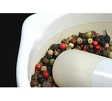 Pepper Mix Photographic Print