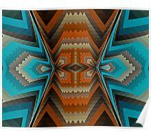 Navaho Blanket Poster