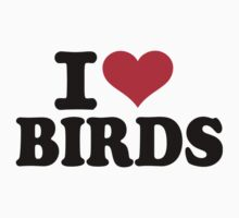 I love Birds Kids Tee