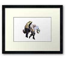 Braum League of Legends Framed Print