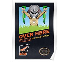 Over here! Poster