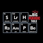 The Big Bang Periodic Table by BootsBoots