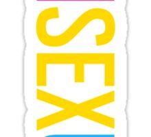 Pansexual - Vertical Sticker