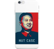 Kim Jong-un Nut Case iPhone Case/Skin
