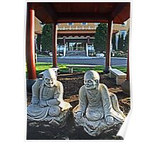 Nan Tien Buddhist Temple - Time to relax Poster