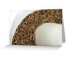 Fennel's Seed Greeting Card