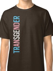 Transgender - Vertical Classic T-Shirt