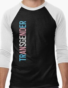 Transgender - Vertical Men's Baseball ¾ T-Shirt