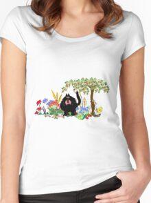 Floral arrangement Women's Fitted Scoop T-Shirt