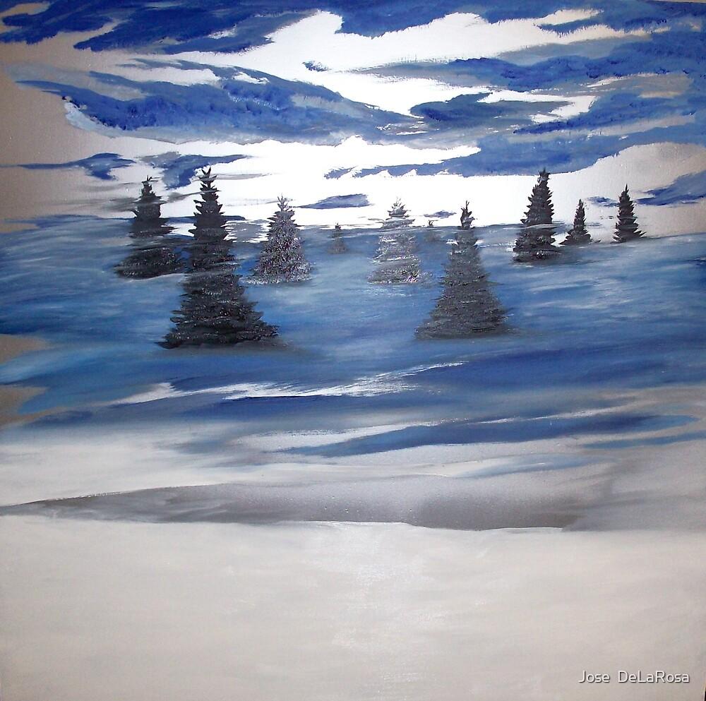 Winter Blues by Jose  DeLaRosa