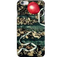 red balloon iPhone Case/Skin