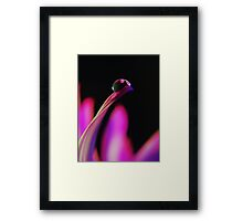 PINK Collection for the Cure - Her gentle touch Framed Print