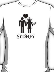 Sydney Wedding T-Shirt
