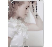 praying iPad Case/Skin