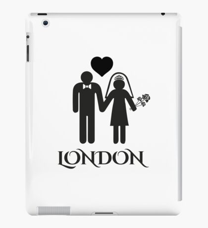 London Wedding iPad Case/Skin