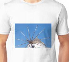 Greek windmill Unisex T-Shirt