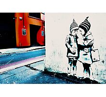 Street art in Bristol Photographic Print