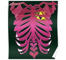 Zelda Triforce heart Poster