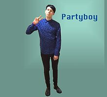 Phil Lester Partyboy by phan trashno1