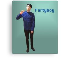 Phil Lester Partyboy Canvas Print