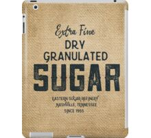 Vintage Style Sugar Sack iPad Case/Skin