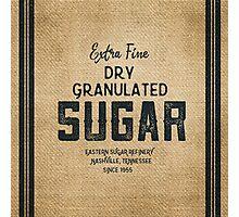 Vintage Style Sugar Sack Photographic Print
