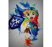 Link- The Legend of Zelda Photographic Print