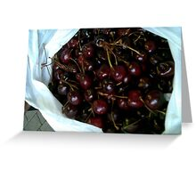 Cherries Greeting Card