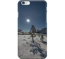 Tracks in the snow II iPhone Case/Skin