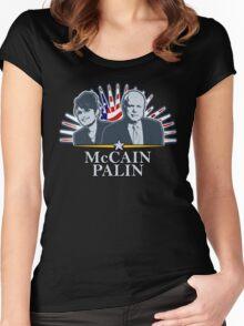 McCain Palin '08 Shirt Women's Fitted Scoop T-Shirt