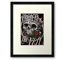 Pierce the Veil- Skull Framed Print