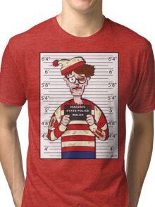 Found Waldo Tri-blend T-Shirt