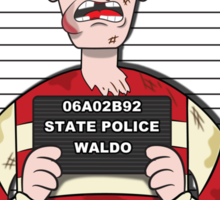 Found Waldo Sticker