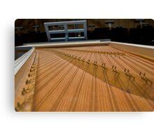 Harpsichord Guts 2 Canvas Print