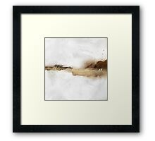 abstract untitled work on paper Framed Print