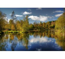 Queen Elizabeth Pond Reflections Photographic Print