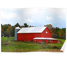 Rural Fall In Vermont Poster