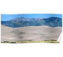 #573  Dunes & Mountains Of Colorado Poster