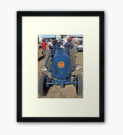 """Voitures  - Cars """" intense technical discussions of ancient times """"  18  (c)(h) by Olao-Olavia / Okaio Créations kodak z1285  2013 Framed Print"""