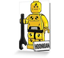 Hoonigan dummy Greeting Card