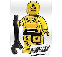 Hoonigan dummy Poster