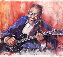Jazz B B King 06 a by Yuriy Shevchuk