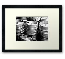 barrels of fun  Framed Print
