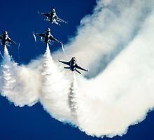 United States airforce display team the Thunderbirds by spitfirebbmf