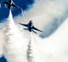 United States airforce display team the Thunderbirds Sticker