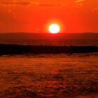 august sunset by Roslyn Lunetta