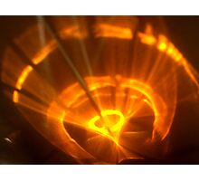 Fan The Red Hot Flame Photographic Print