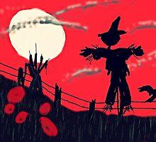 Halloween scarey by Anna  Lewis