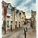 Abbey Lane - watercolour by PhotosByHealy