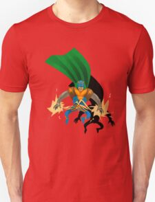 Super Electric Guy - papercut style T-Shirt